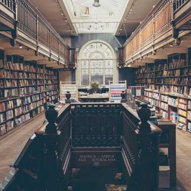 Auxilia de bibliotecas
